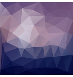 Awesome abstract triangle vector image