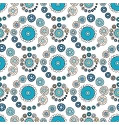 Bright varicolored seamless pattern white vector