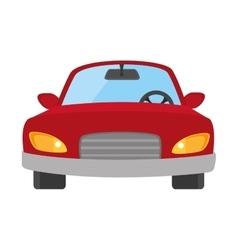 Car auto front icon vector