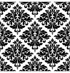 Damask dainty seamless pattern vector image