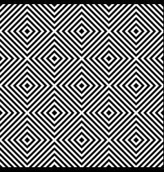 Geometric seamless pattern with repeated vector
