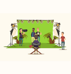 Movie making composition vector