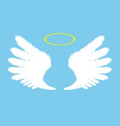 Wings icon vector