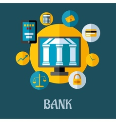 Banking and investment concept vector