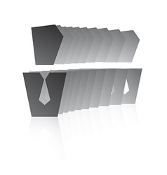 Business avatars gradient vector