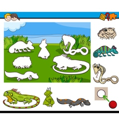 cartoon game for children vector image vector image