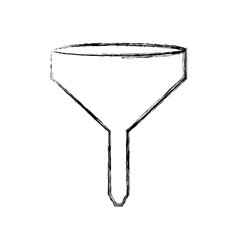 funnel icon image vector image
