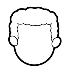 Head face man father people image vector