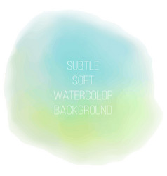 Painted sea blue watercolor background vector