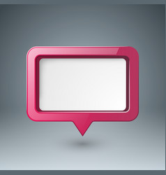 speech bubl icon dialog box info vector image