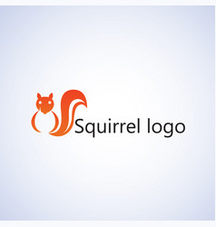 Squirrel logo ideas design vector