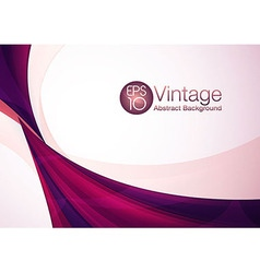 Vintage abstract background vector image vector image