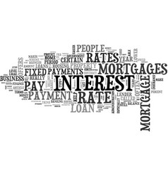 What you need to know about mortgages text word vector