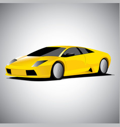 Realistic car vector