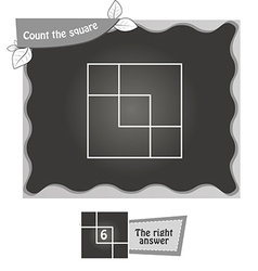 Bw count the squares vector