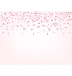 Valentine card background vector
