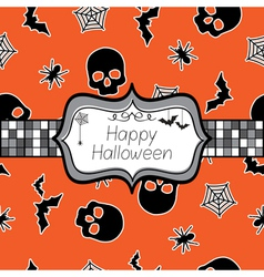 Halloween wrapping vector
