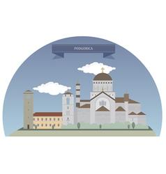 Podgorica vector