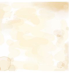 Delicate watercolor background with water stains vector