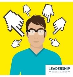 Leadership business entrepreneur vector