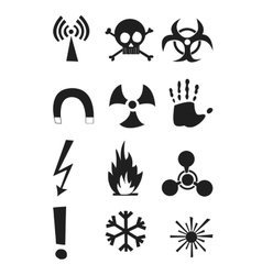 Signs of chemical effects on human radiation vector
