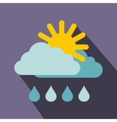 Weather icon flat style vector image vector image