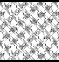 Pattern of lines and dots vector