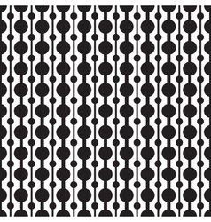Classic circle geometric seamless pattern vector