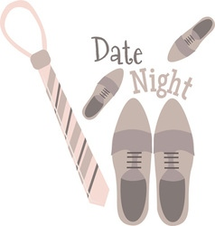 Date Night vector image vector image