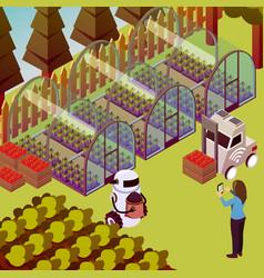 Farm operator robots composition vector