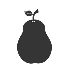 Pear fruit food icon graphic vector
