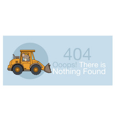 error 404 with funny mouses cartoon vector image