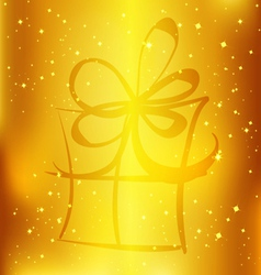 2014 new year gift 1 vector image