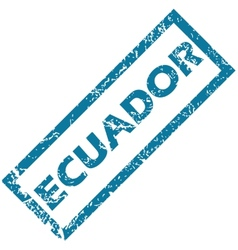 Ecuador rubber stamp vector