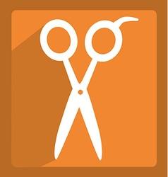 scissors icon design vector image