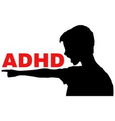 Adhd concept vector