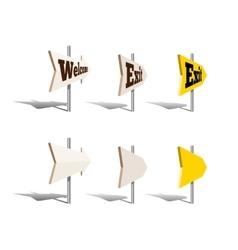 Arrow pointers vector