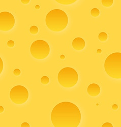 Cheese Texture Pattern vector image vector image