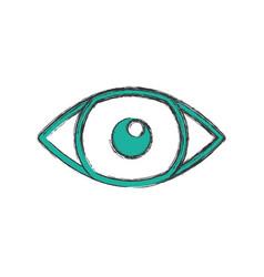 eye looking symbol vector image