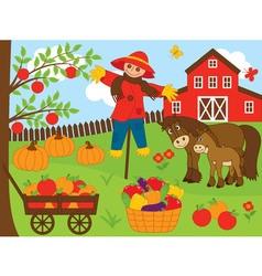 Harvest Set vector image