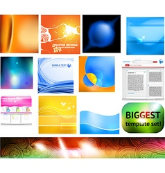 Template set vector