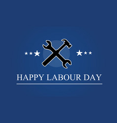 Collection labor day background style vector