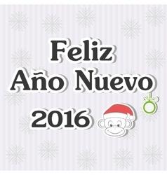 Feliz ano nuevo vector