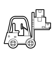 Lift car vector