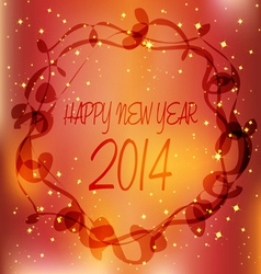 2014 new year frame 1 vector