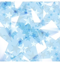 Background decorated stars vector