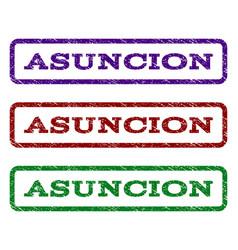 Asuncion watermark stamp vector