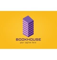 Books logo icon vector image