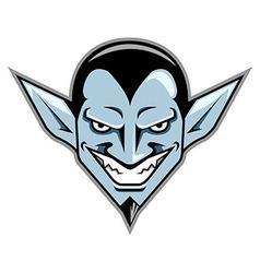 Dracula Head vector image vector image