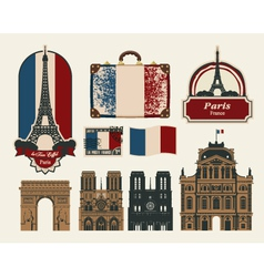 France Paris vector image